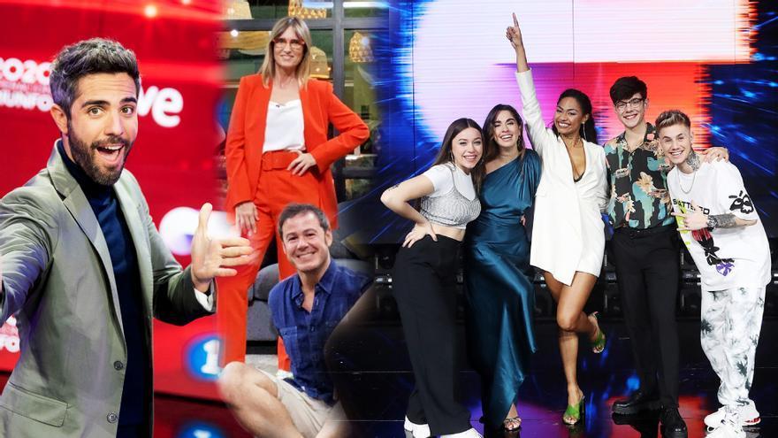Roberto Leal, Noemí Galera, Ivan Labanda y los finalistas de 'OT 2020'