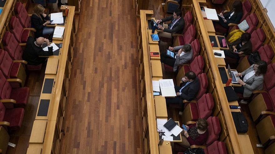 Imagen de archivo de un Pleno en las Cortes de Castilla-La Mancha