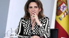 La vicepresidenta Teresa Ribera.