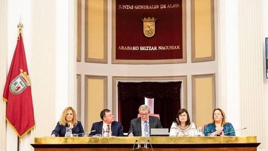 La Mesa de las Juntas Generales de Álava