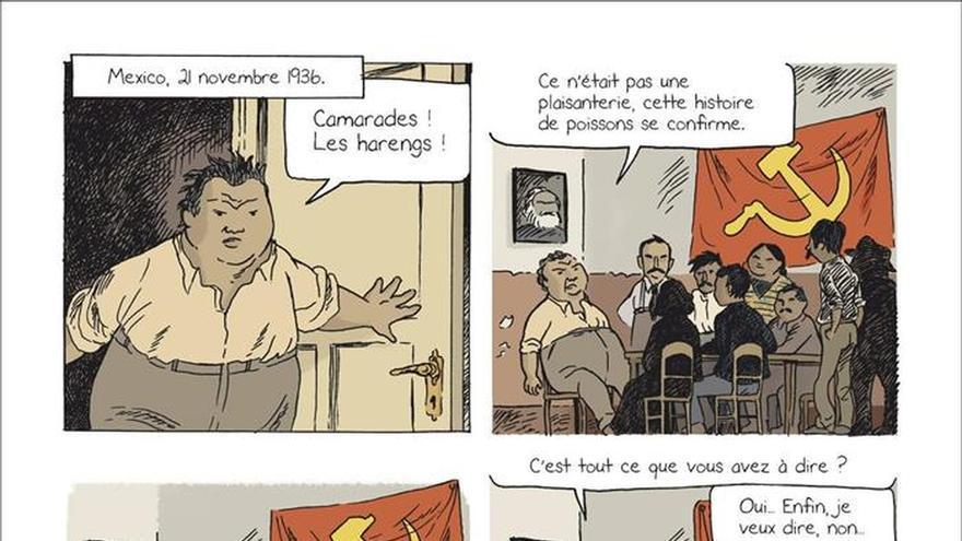 Frida Kahlo se reencuentra con Rivera y Trotski en 675 viñetas