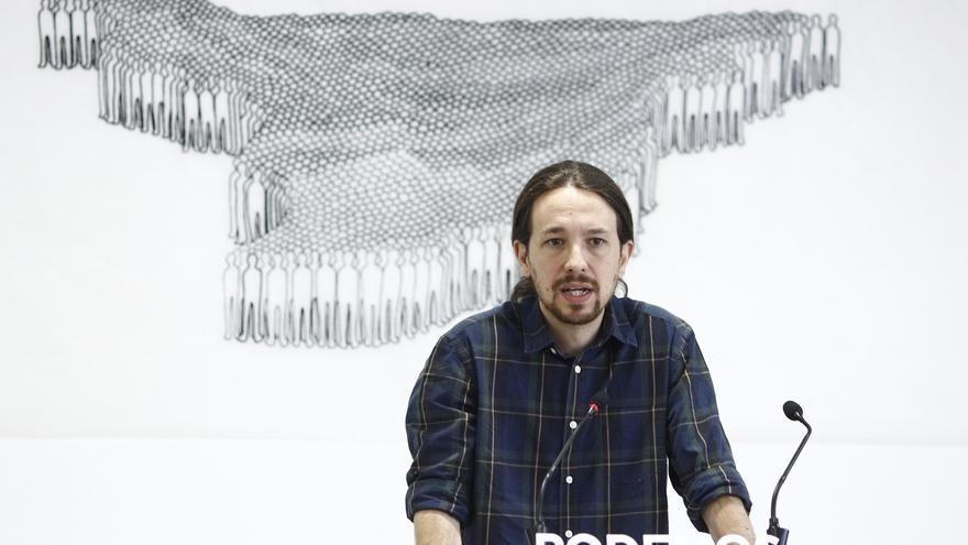 Pablo Iglesias abrirá campaña en un pueblo de Zamora con la tradicional pegada de carteles