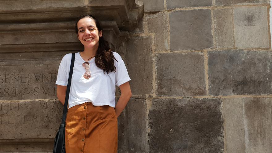 La joven Valeria Castro siente una gran pasión por la música.