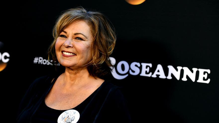 Roseanne Barr en un estreno