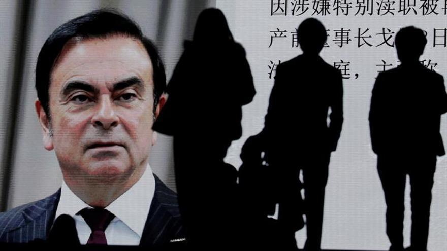 El Tribunal de Tokio concede la libertad bajo fianza a Carlos Ghosn