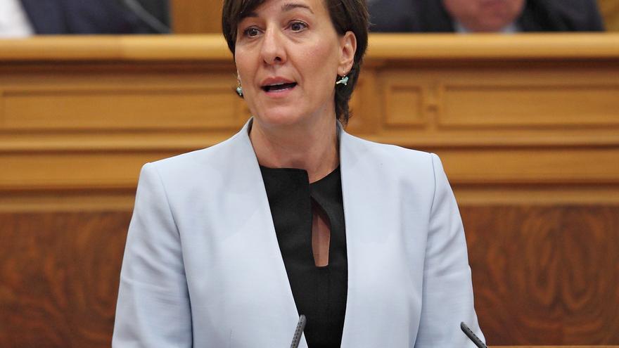 Blanca Fernández, portavoz del PSOE en las Cortes de Castilla-La Mancha