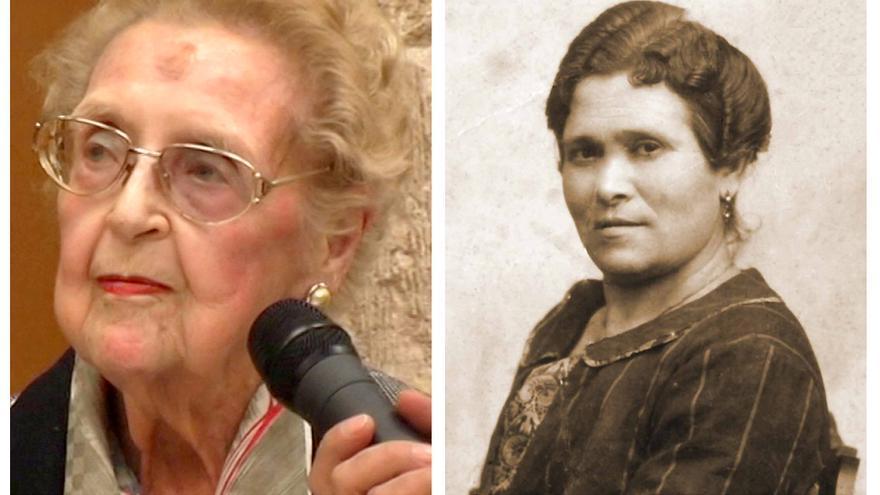 Carmelina Sánchez-Cutillas y María Cambrils