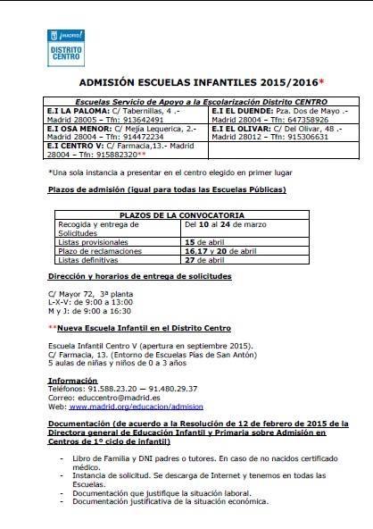 admision-escuelas-infantiles-centro-2015-16