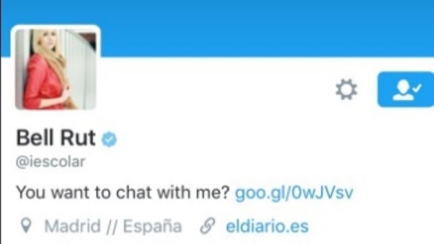 La cuenta de Ignacio Escolar hackeada en Twitter