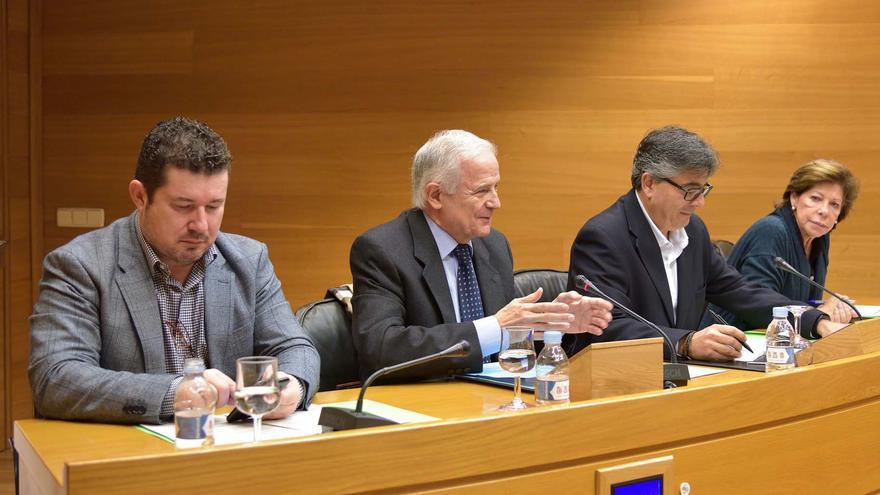 El Fiscal Superior de la Comunidad Valenciana, Antonio Montabes, comparece en las Corts