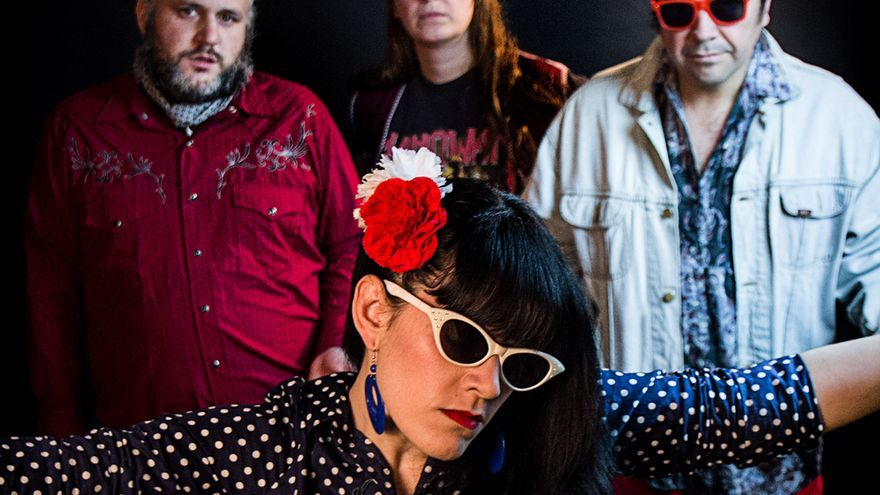 El grupo flamenco Juana Chinarro. | FERNANDO BEAT DEL RÍO
