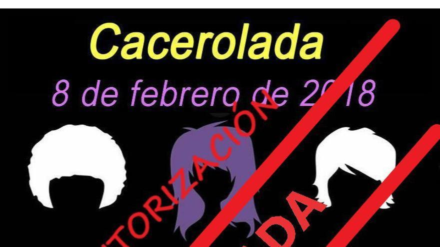 La Delegación de Gobierno de Murcia niega el permiso a la cacerolada feminista