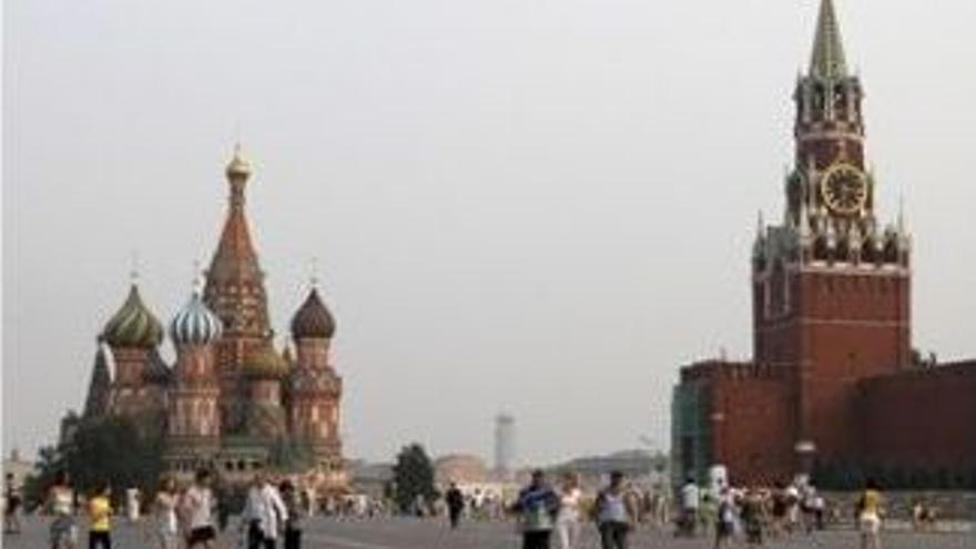 La Plaza Roja, libre de humos. (EUROPA PRESS)