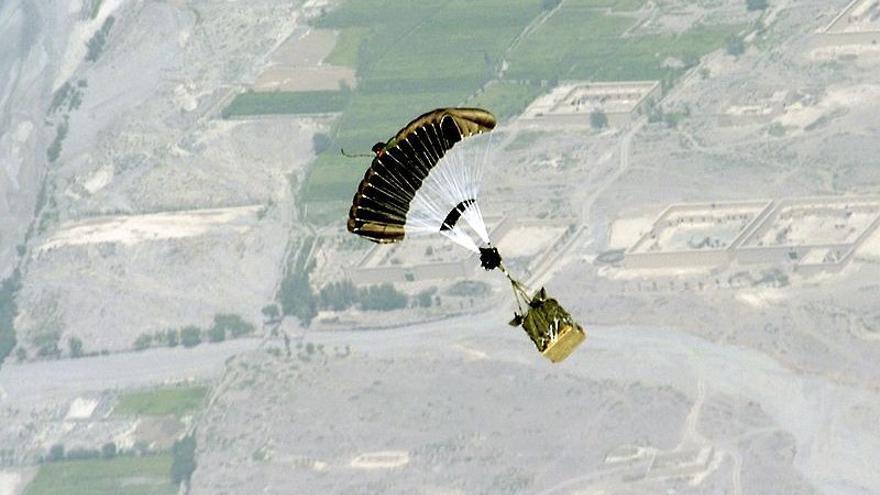 Paracaídas guiados por GPS // Foto: Ejército de EEUU