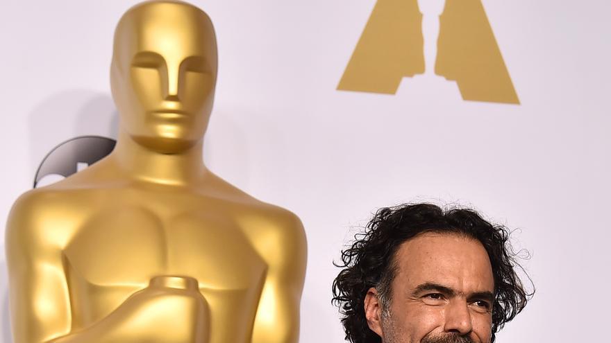 Alejandro G. Iñárritu y sus cuatro Oscars por 'Birdman' \ Jordan Strauss