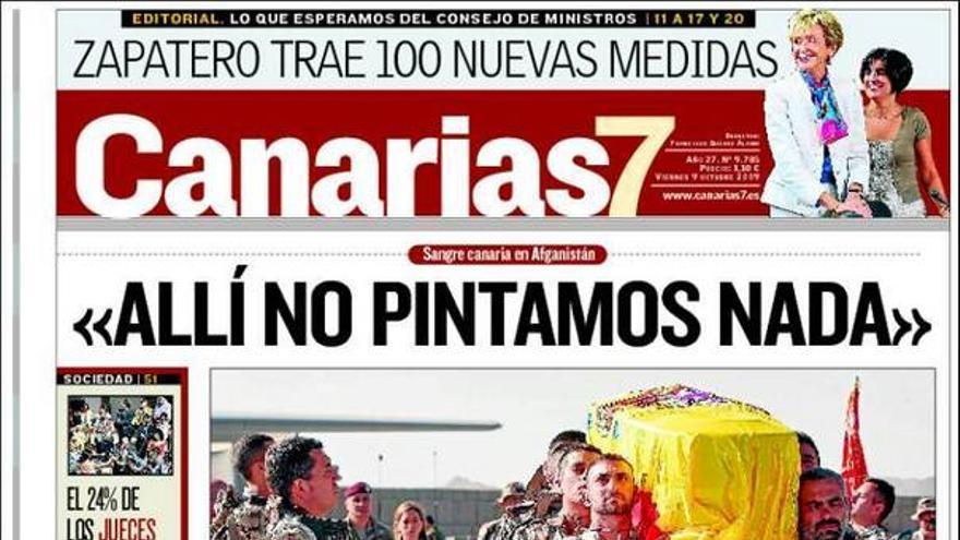 De las portadas del día (09/10/09) #2
