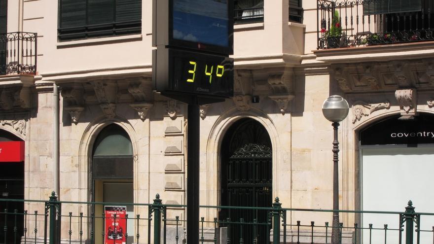 Activado para este lunes en Euskadi el aviso amarillo por temperaturas altas extremas que porían superar los 35ºC
