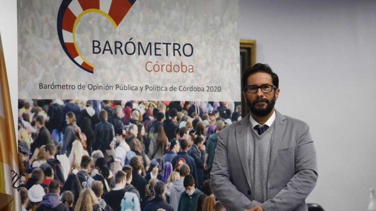 El profesor titular de Sociología en la Universidad de Córdoba (UCO) David Moscoso, en una imagen de archivo.
