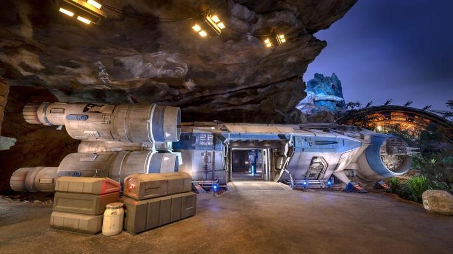 """Disney World inaugura en Orlando su nueva atracción de """"Star Wars"""""""