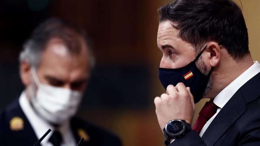 Abascal alienta las teorías de las conspiración sobre el coronavirus y sugiere que fue fabricado por China