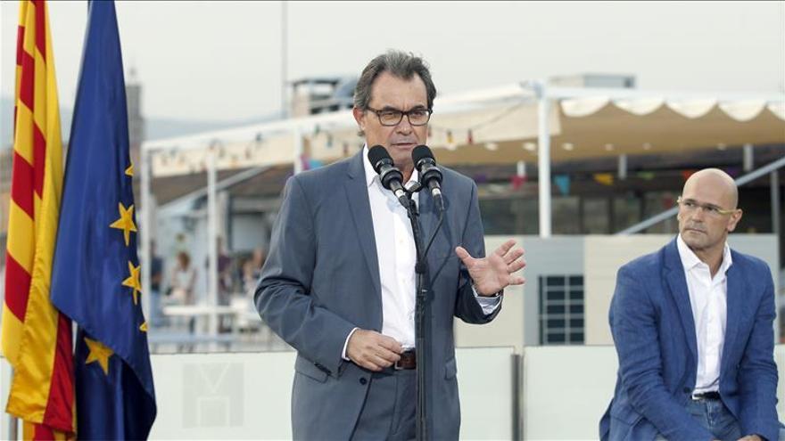 Artur Mas en la presentación de 'Junts pel sí'