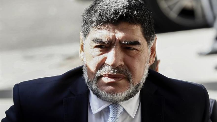 La novia de Maradona se niega a declarar tras la fuerte discusión en un hotel