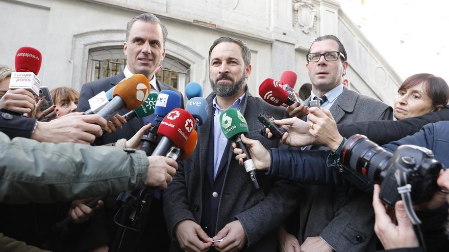 """Vox dice que en la reunión de hoy se verá si se entabla una negociación """"larga"""" con el PP y reclama a Cs su presencia"""