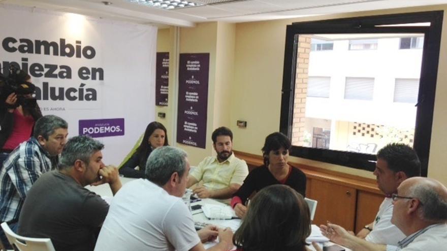 Podemos estudia denunciar por vía Penal a la Junta andaluza por los trabajadores del SAE y ALPE