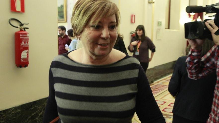 Rajoy deja a Celia Villalobos fuera de la Mesa del Congreso después de 13 años en la zona presidencial