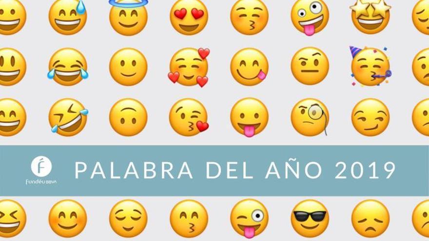 Los emojis se imponen en la palabra del año de la Fundéu BBVA