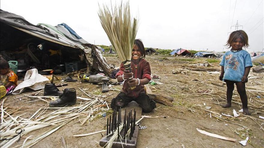 El trabajo desciende en la India, el país con más menores explotados