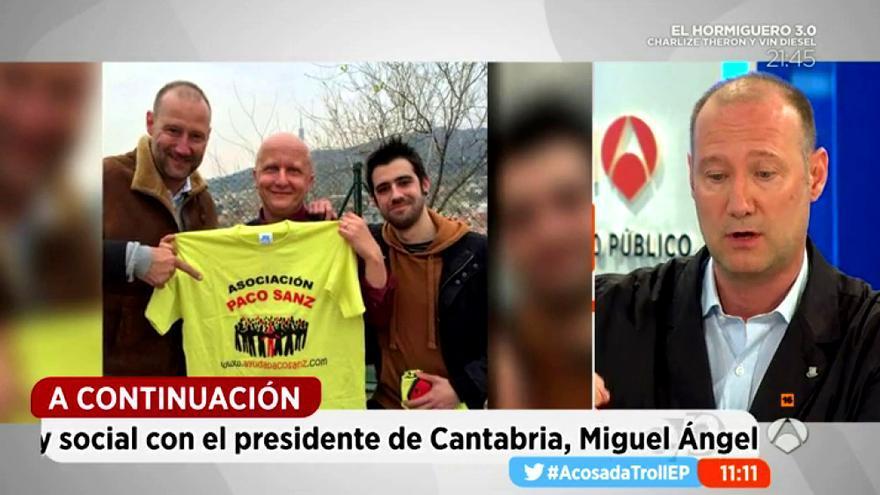 Pedro García Aguado y su abogado denuncian a Paco Sanz