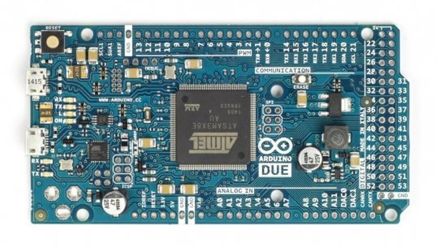 Una placa Arduino (Foto: arduino.cc)
