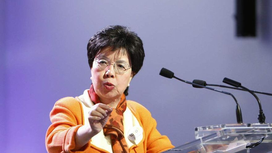 Margaret Chan, directora general de la Organización Mundial de la Salud