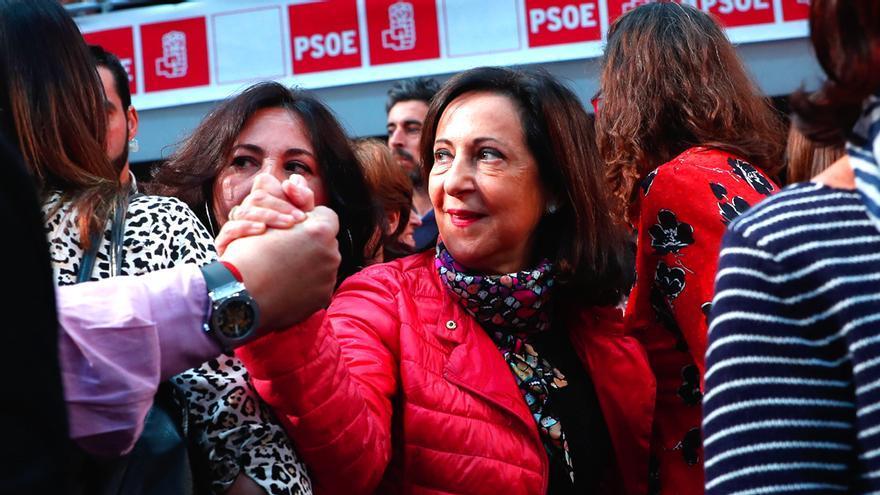 Margarita Robles, en un acto del PSOE