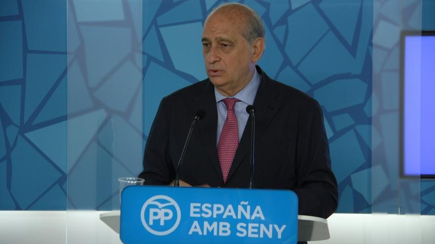 """Jorge Fernández acusa a Puigdemont de ser el presidente de """"algunos"""" catalanes"""