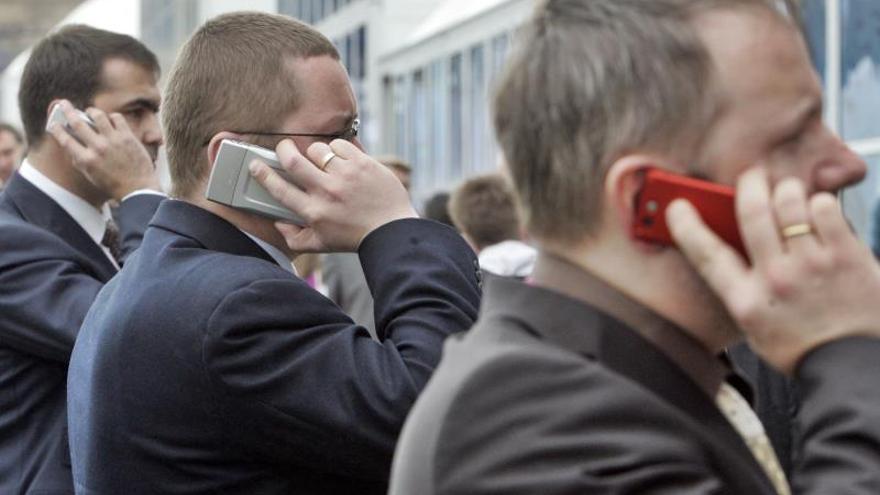 En España hay 116 líneas móviles por cada cien habitantes