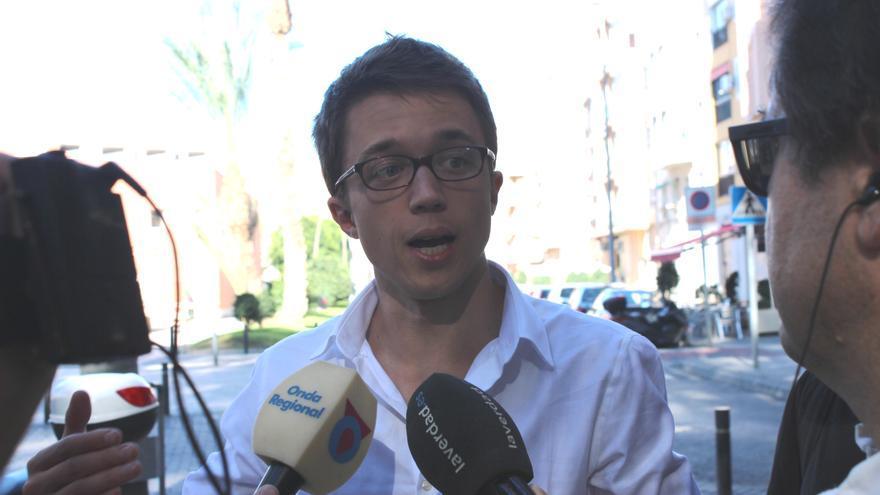 Íñigo Errejón expresa su inquietud sobre los peligros de que Podemos se presente a las elecciones municipales