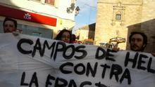 """Colectivos antifracking quieren """"exportar"""" la ley castellano-manchega a todo el país"""