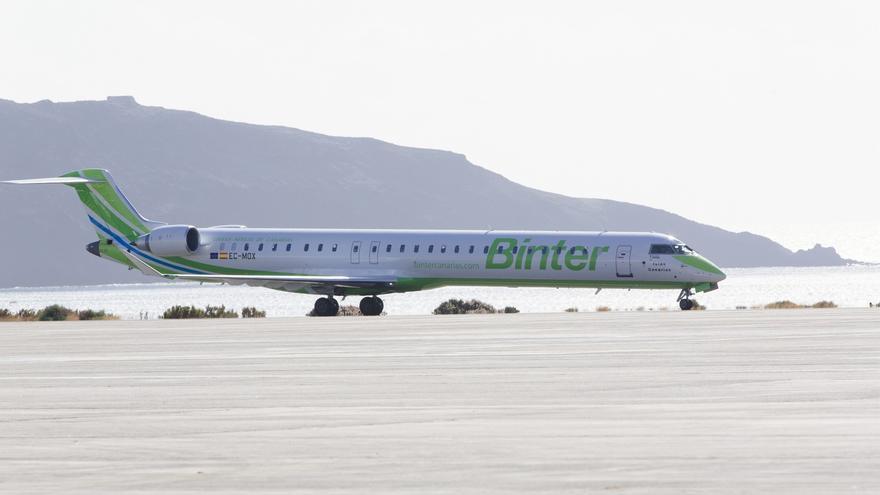 La aerolínea Binter unirá desde primavera Santander con Canarias