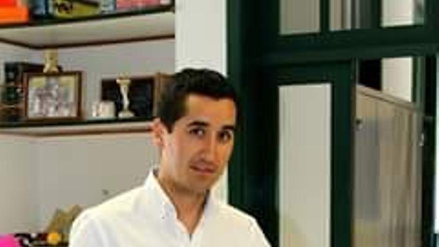 Borja Pérez, candidato del PP a la Alcaldía de Breña Baja.