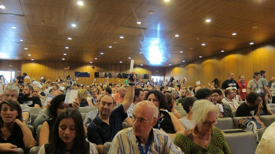 El plenario de En Marea avala la continuidad de Villares como portavoz y respalda la configuración de la coordinadora