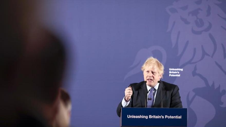 Johnson quiere un pacto como el de Canadá, sin sumisión a las reglas de la UE