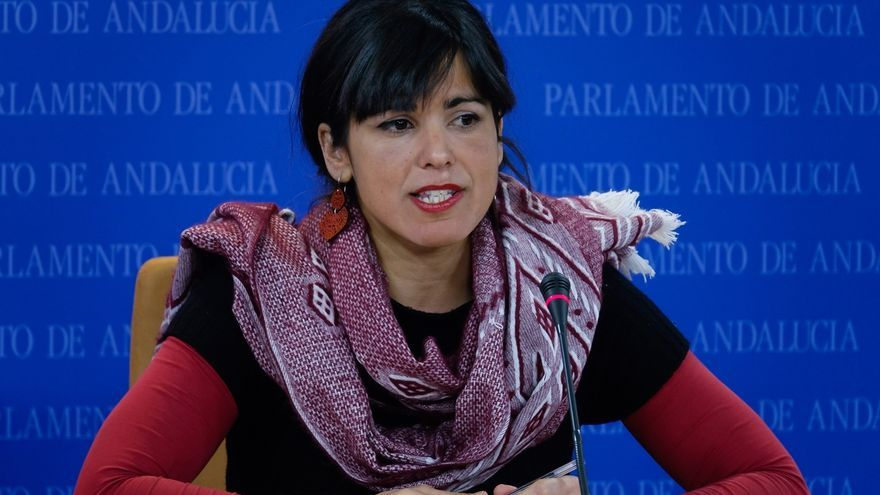 """Teresa Rodríguez pide abordar la financiación entre ccaa: """"Ni con los barones del PP ni con los del PSOE se resuelve"""""""