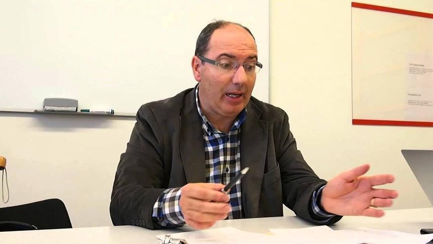 David Caminada, en una captura de pantalla de un vídeo de Youtube.