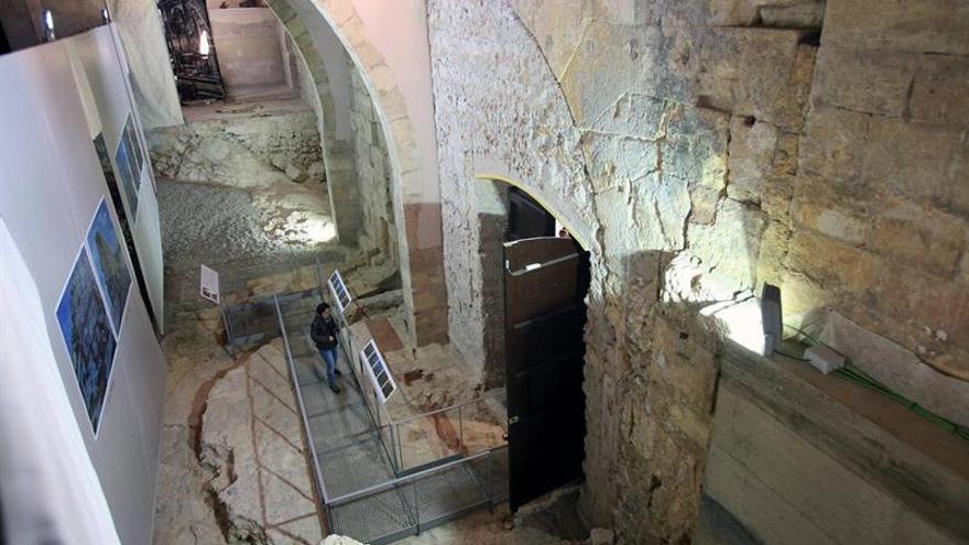 Abren al público los restos del templo de Augusto en la catedral de Tarragona