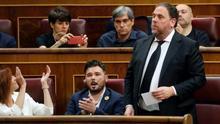Junqueras pide al Supremo suspender la sentencia del procés hasta que la justicia europea se pronuncie sobre su inmunidad