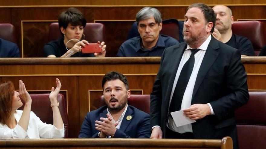 Junqueras pide que la respuesta a la sentencia fortalezca las instituciones