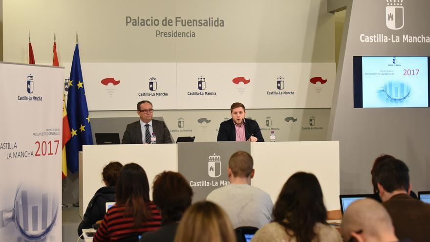 Presentación del proyecto de Ley de Presupuestos de Castilla-La Mancha 2017 / JCCM