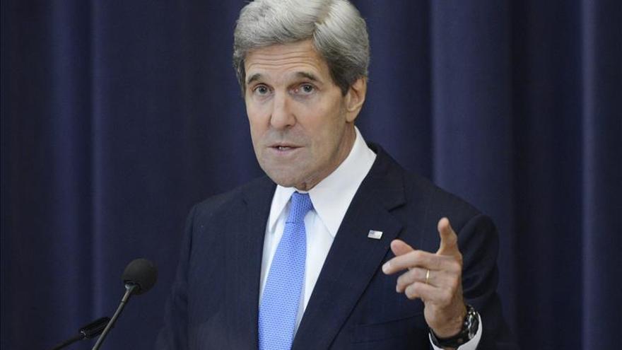 Kerry afirma que es innegable que el régimen sirio ha usado armas químicas